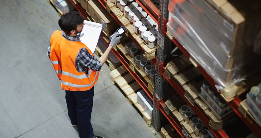 Using a barcode system enables businesses to process returns quicker and more efficiently.