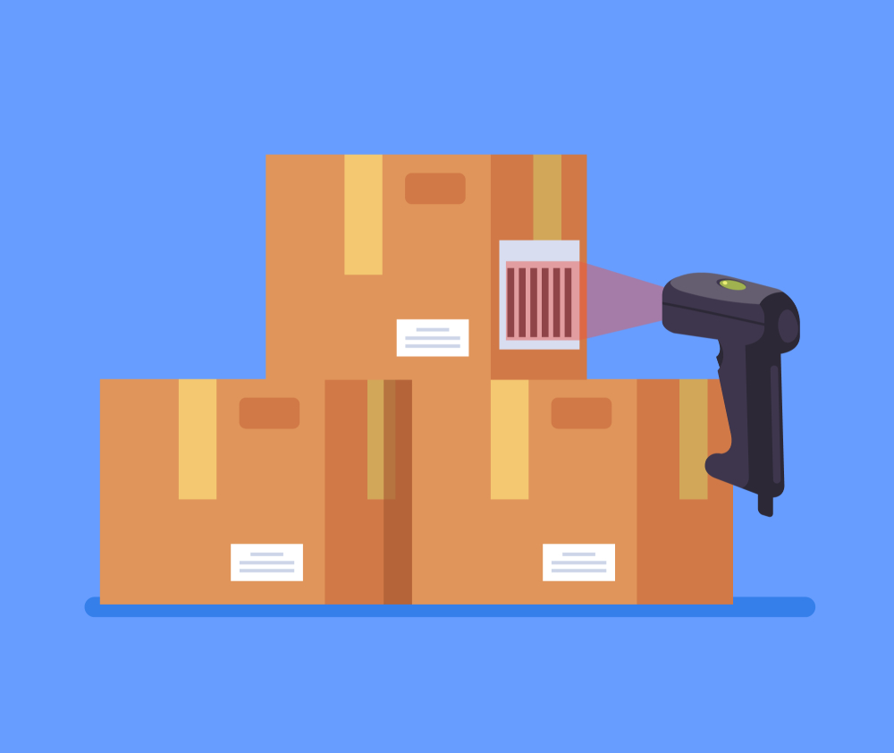 Barcode system is crucial for inventory management
